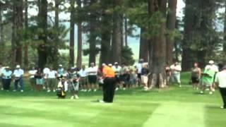 Compilation Of Charles Barkley's Golf Swing