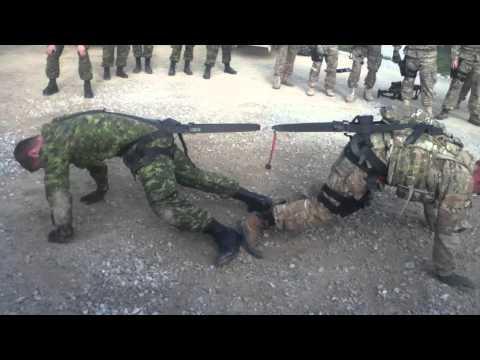 Jokes - Canadian Soldier Vs American Soldier Tug Of War