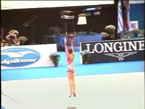 Amazing - Gymnast's Routine With A Ball