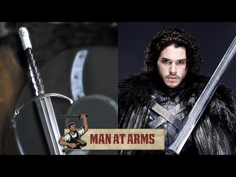 Man At Arms Makes Game Of Thrones Jason Snow's Sword