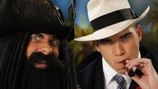 Epic Rap Battle Between Al Capone And Blackbeard