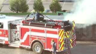 Water Hose Vs The Fireman FAIL
