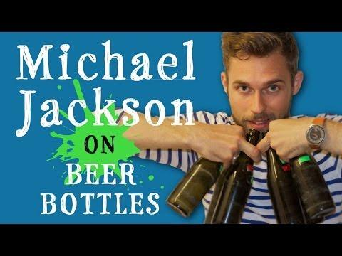 Michael Jackson's Billy Jean Song Cover Using Beer Bottles