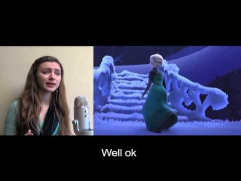 Google Translated Disney's Let It Go Song Cover
