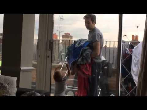 Baby Argues With Dad About Going To The Balcony