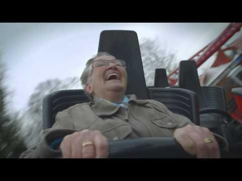 Grandma's First Roller Coaster Ride