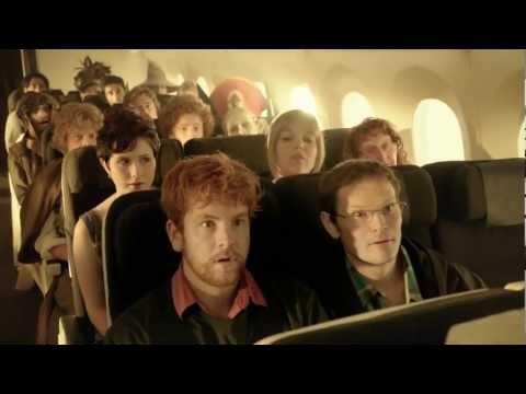 Spoofs - Air New Zealand Hobbit Flight Safety