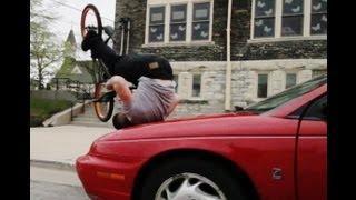 Tim Knoll Shows Off Amazing Bike Tricks