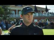 Golf And Soccer Trick Shot Battle Between Wayne Rooney And Rory McIlroy