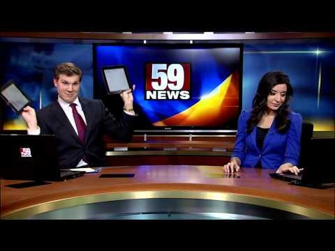 Anchor Is Not So Amused By Her Co-anchor's Dance