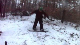 Instant Karma After Guy Pushes Snowboarder