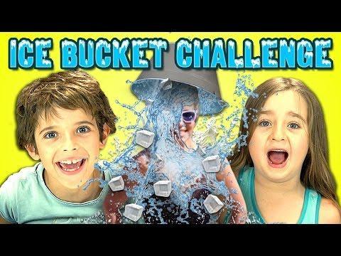 Funny Kids Reaction To Ice Bucket Challenge