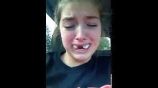 Funny Girl After Wisdom Teeth Surgery Thinks She's A Nascar Driver
