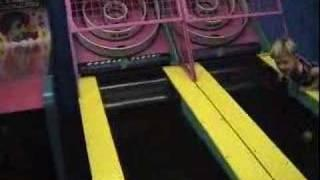 Skee Ball Meets Kid's Face FAIL