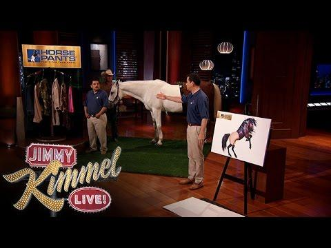 Jimmy Kimmel And Guillermo Go On The Shark Tank