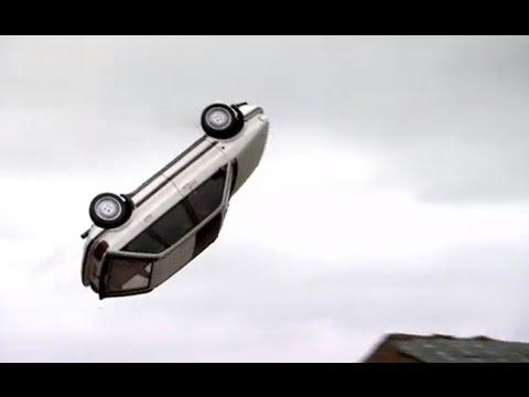 Famous Car Barrel Roll Stunt From James Bond Movie Recreated On Top Gear