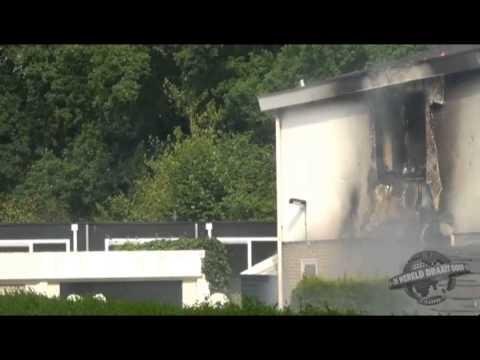 Firefighter Asks House Owner For Keys And His Buddies Knock Down The Door