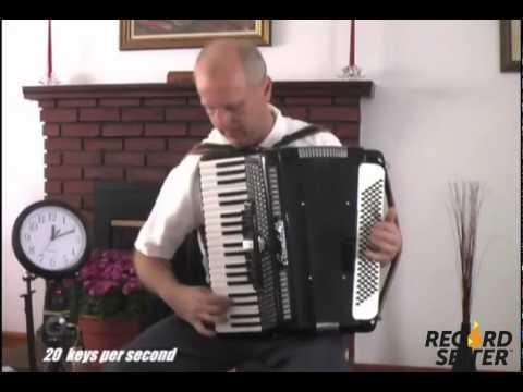 Awesome - World's Fastest Accordion Player