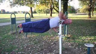 64 Years Old Grandpa Loves To Workout