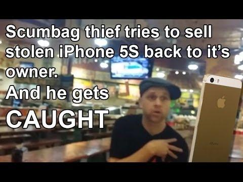Guy Steals iPhone From Girl And Tries To Sell It Back To Her