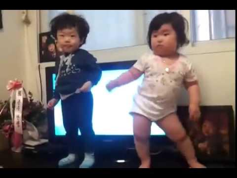 Hilarious Dancing Baby Got Nice Moves