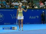 Jokes - Caroline Wozniacki Pretends To Serena Williams