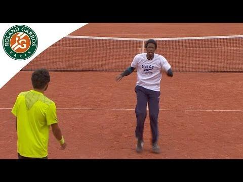 Gael Monfils Vs Laurent Lokoli Dance Battle At The French Open Kids Day
