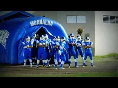 Cool - High School Football Team's Entrance