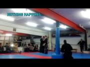 Self Defense Master Jukka Lampila's EFO Empty Force Demonstration FAIL