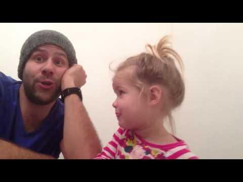 Cute - Father And Daughter Do A Cover Of Mahna Mahna