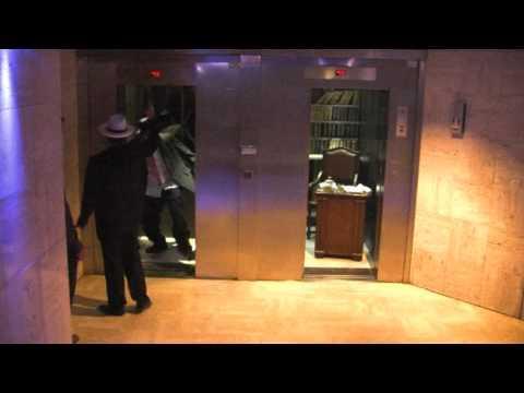 Pranks - Godfather Elevator Prank