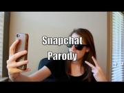 Robin Thicke's Blurred Lines Song Snapchat Parody By Laina
