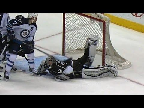 Jonathan Quick's Awesome Save With One Leg