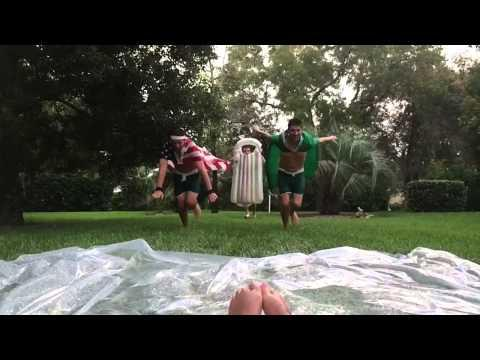 How NOT To Slip And Slide - Fail