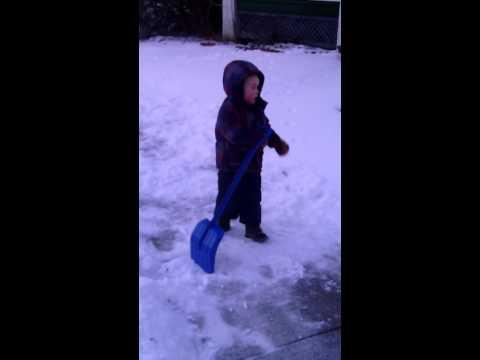 Kid Is Sick Of Winter Already