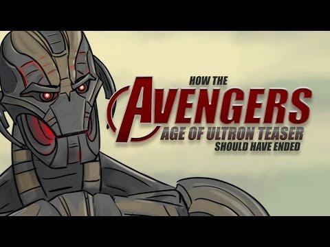 Alternate Ending For How The Avengers - Age of Ultron Teaser