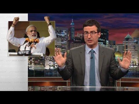 John Oliver's Take On Indian Election