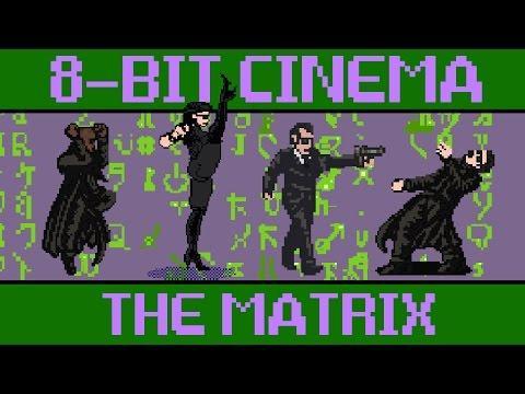 The Matrix Reloaded In 8 Bit Version