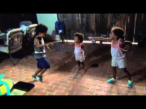 Cute Dance Battle Between Kids