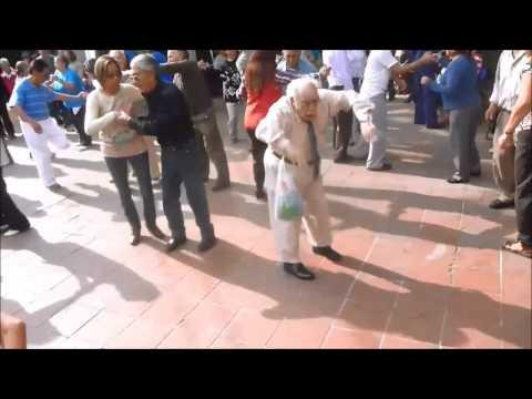 Old Man Shows Off Great Dance Moves