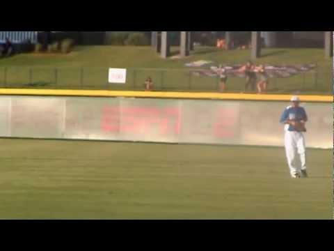 FAIL - Delonte West's Worst Baseball Throw