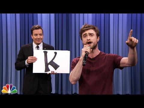 Blackalicious' Alphabet Aerobics By Daniel Radcliffe