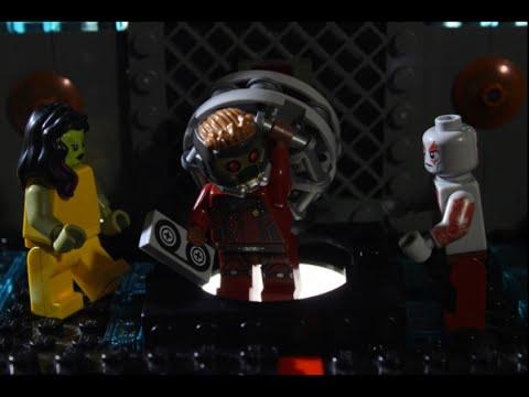 LEGO Version Of Guardians Of The Galaxy Movie