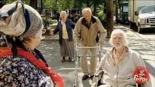 Old People Cause Traffic Jam Prank