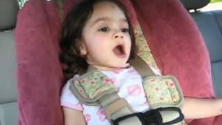 Cute 2 Years Old Singing Pearl Jam's Song