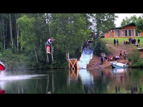 Awesome - Slip And Slide Into The Lake