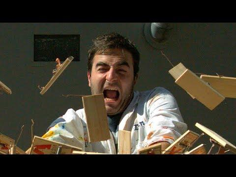 150 Mousetraps Going Off In Slow Motion