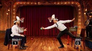 Jimmy Fallon And Bradley Cooper Play Faceketball