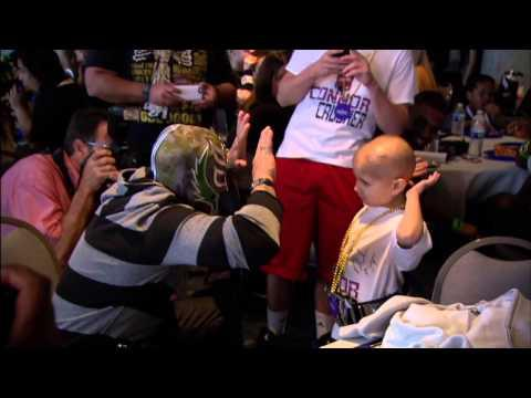 WWE Wrestlers Pay Tribute To Connor The Crusher