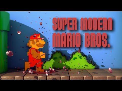Geeky - Modern Super Mario Game